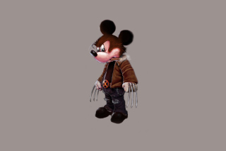 Mickey Wolverine Mouse Picture for Android, iPhone and iPad