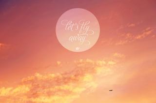 Let's Fly Away - Obrázkek zdarma pro Nokia X2-01