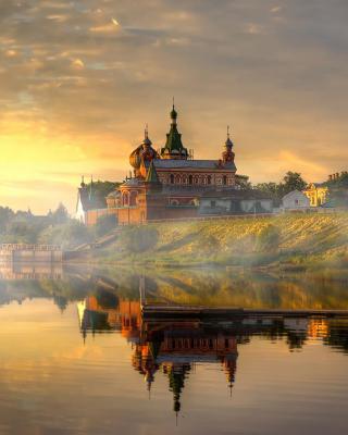 Staroladozhsky Nicholas Monastery Picture for Nokia N8