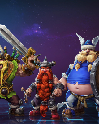 Heroes of the Storm Background for Nokia Asha 303