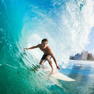 Catching Big Wave - Obrázkek zdarma pro 320x320