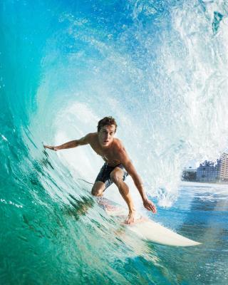 Catching Big Wave - Obrázkek zdarma pro Nokia X7