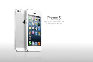 Iphone 5 - Obrázkek zdarma pro 320x240