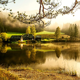Beautiful Countryside Scenery - Obrázkek zdarma pro 1024x1024
