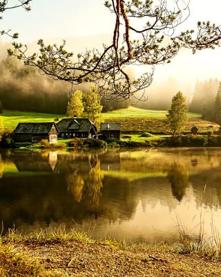 Beautiful Countryside Scenery - Obrázkek zdarma pro Nokia C-5 5MP