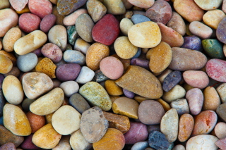 Free Colorful Pebbles Picture for Android, iPhone and iPad