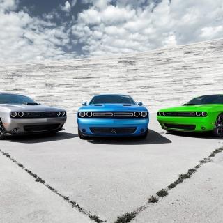 2015 Dodge Challenger Cars - Obrázkek zdarma pro 2048x2048