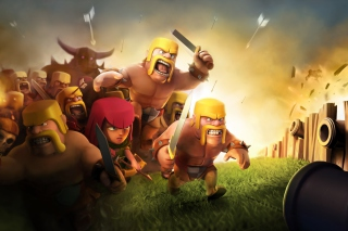 Clash of Clans Wallpaper for Android, iPhone and iPad
