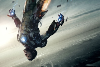 Robert Downey Jr - Iron Man Wallpaper for Android, iPhone and iPad