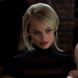 Margot Robbie - The Wolf Of Wall Street - Obrázkek zdarma pro iPad Air