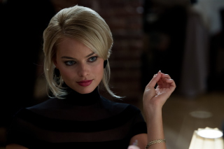 Margot Robbie - The Wolf Of Wall Street - Obrázkek zdarma pro Widescreen Desktop PC 1920x1080 Full HD