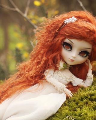 Curly Redhead Doll - Obrázkek zdarma pro Nokia C2-01