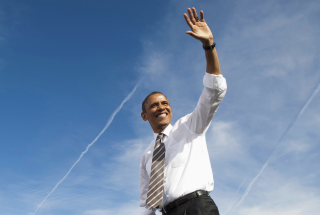 Barack Obama Background for Android, iPhone and iPad
