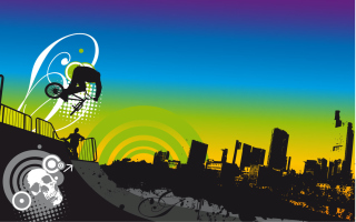 Free Urban BMX Picture for Android, iPhone and iPad