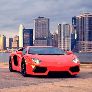Red Lamborghini - Obrázkek zdarma pro 208x208