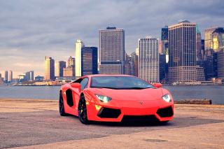 Red Lamborghini - Obrázkek zdarma pro Samsung B7510 Galaxy Pro
