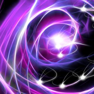 Fluorescent rays - Obrázkek zdarma pro iPad Air