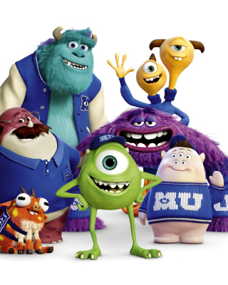 Monsters University, Oozma Kappa Students - Fondos de pantalla gratis para Nokia C2-02