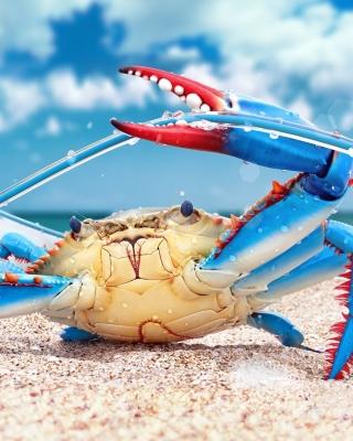 Blue crab - Obrázkek zdarma pro 240x400