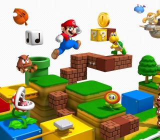Super Mario 3D - Obrázkek zdarma pro 1024x1024