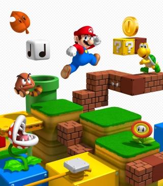 Super Mario 3D - Obrázkek zdarma pro 320x480