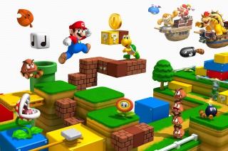Super Mario 3D - Obrázkek zdarma pro Samsung Galaxy Ace 4