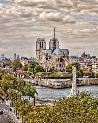 Notre dame de Paris - Obrázkek zdarma pro iPhone 3G