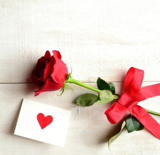 Rose With Letter - Obrázkek zdarma pro 320x320