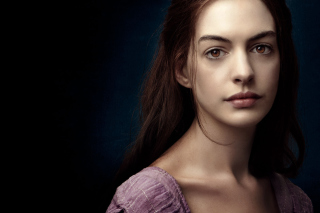 Anne Hathaway In Les Miserables Background for Android, iPhone and iPad