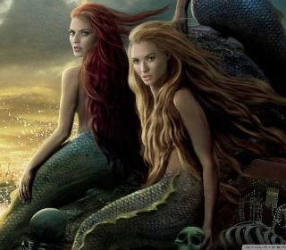 Pirates Of The Caribbean Mermaids - Obrázkek zdarma pro 2048x2048
