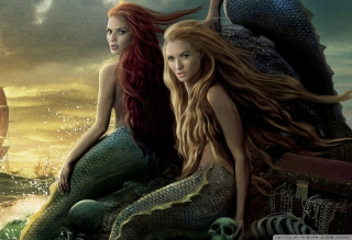 Pirates Of The Caribbean Mermaids - Obrázkek zdarma pro Desktop Netbook 1366x768 HD