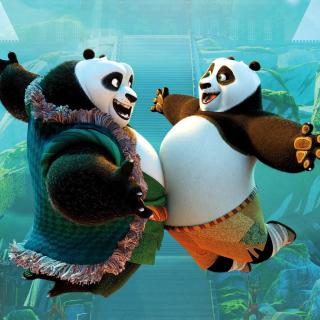 Kung Fu Panda 3 DreamWorks - Obrázkek zdarma pro iPad mini