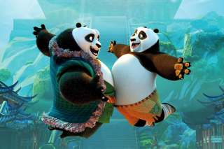 Kung Fu Panda 3 DreamWorks - Obrázkek zdarma pro Samsung Galaxy Tab 4G LTE