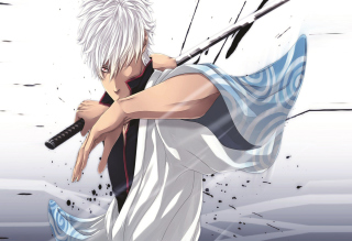 Sakata Gintoki - Yorozuya Gin-Chan Wallpaper for Android, iPhone and iPad