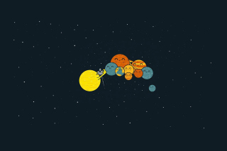 Sun And Planets Funny - Obrázkek zdarma pro Android 720x1280
