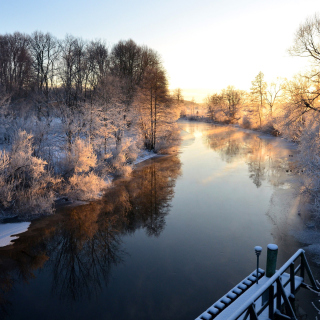 Sweden Landscape - Obrázkek zdarma pro 1024x1024