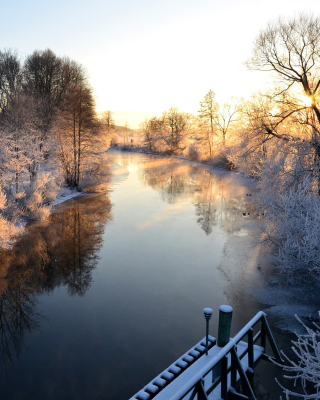 Sweden Landscape - Obrázkek zdarma pro 320x480