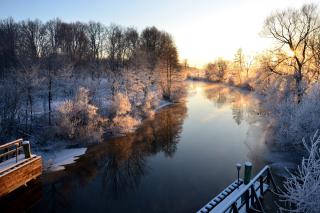 Sweden Landscape - Obrázkek zdarma pro 1400x1050