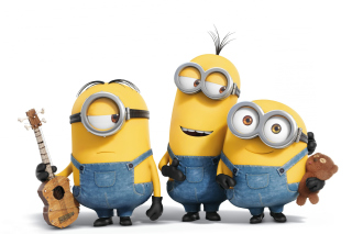 Minions Dancing Background for Sony Ericsson XPERIA X8