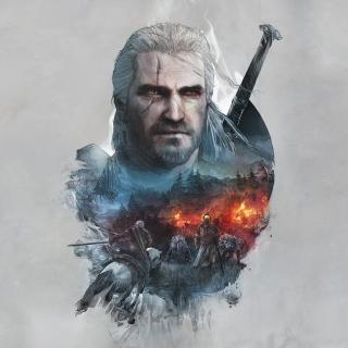 Geralt of Rivia Witcher 3 - Obrázkek zdarma pro iPad 3