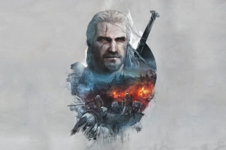 Kostenloses Geralt of Rivia Witcher 3 Wallpaper für Android, iPhone und iPad