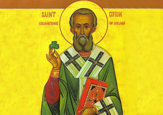 Free Saint Patrick Shamrock Picture for Android, iPhone and iPad