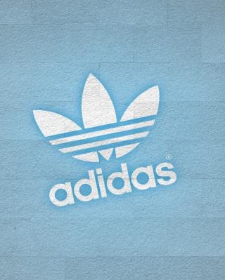 Adidas Logo - Obrázkek zdarma pro 240x400