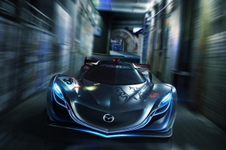 Mazda Furai - Obrázkek zdarma pro 1366x768
