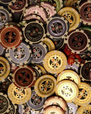 Casino Token - Obrázkek zdarma pro 320x480
