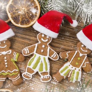Christmas Ginger Bread - Obrázkek zdarma pro iPad mini 2