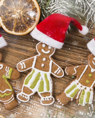 Christmas Ginger Bread - Obrázkek zdarma pro 480x854