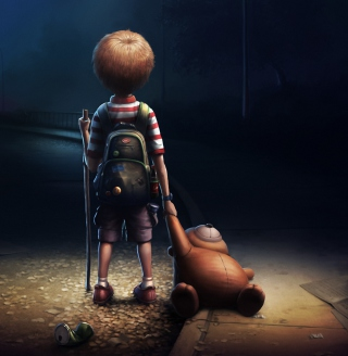 Lonely Child - Obrázkek zdarma pro iPad mini