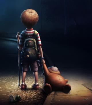 Lonely Child - Obrázkek zdarma pro Nokia C5-05