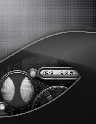 Digital Clock - Obrázkek zdarma pro Nokia C2-02
